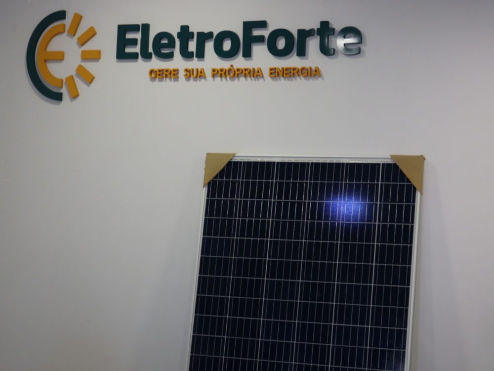 Eletroforte Energia Solar Foto 1