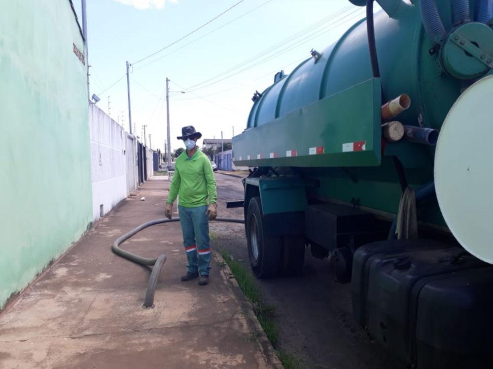 Green Limpeza De Fossa Foto 2